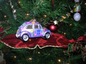 Slug bug Christmas ornament