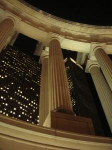 Roman Columns in Millennium Park