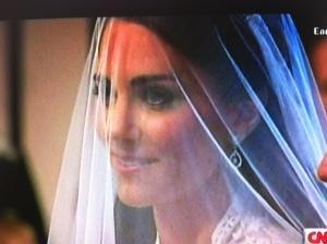 Kate's veil