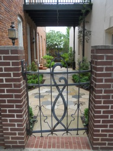 Courtyard entrance